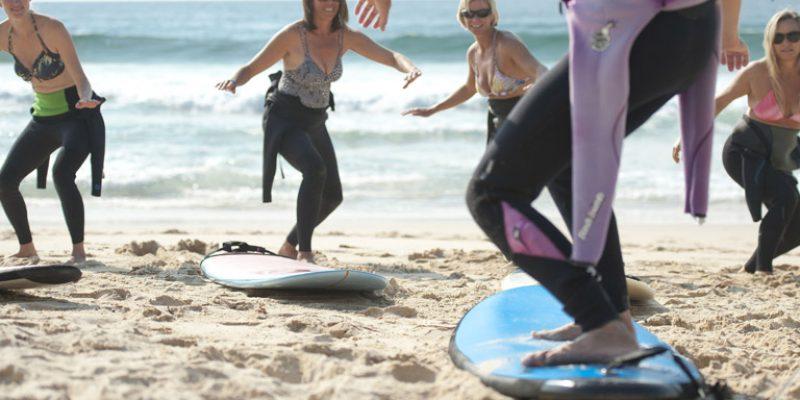 Pam Burridge Surf Retreat